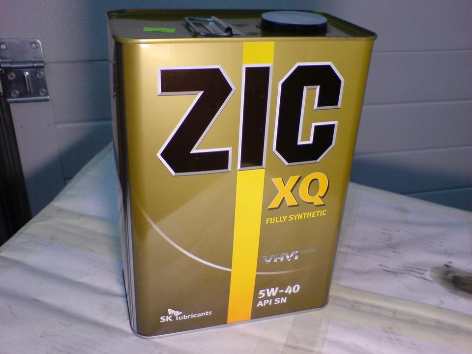 Лицевая сторона канистры ZIC