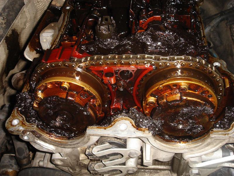 Вышедший из строя двигатель