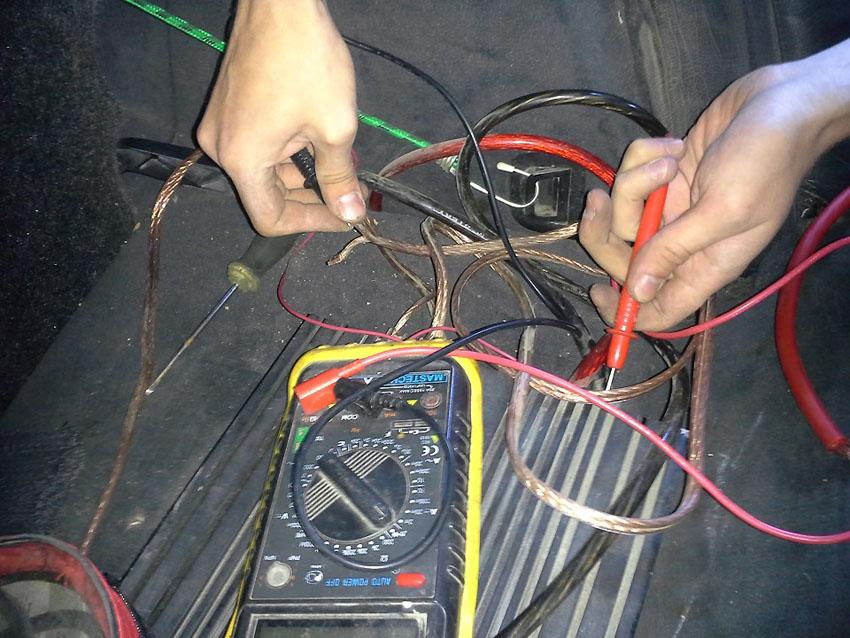 Проверка проводов