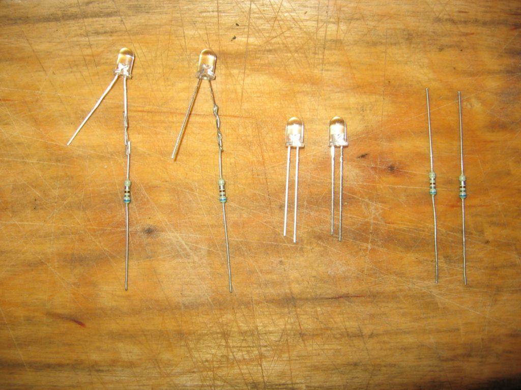 Соединение с резистором