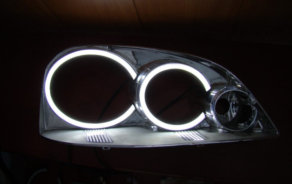 Светящиеся кольца авто