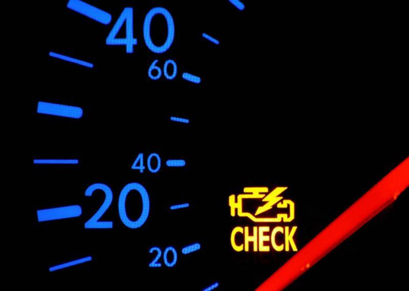 Загорелся Check — возможные причины и способы решения