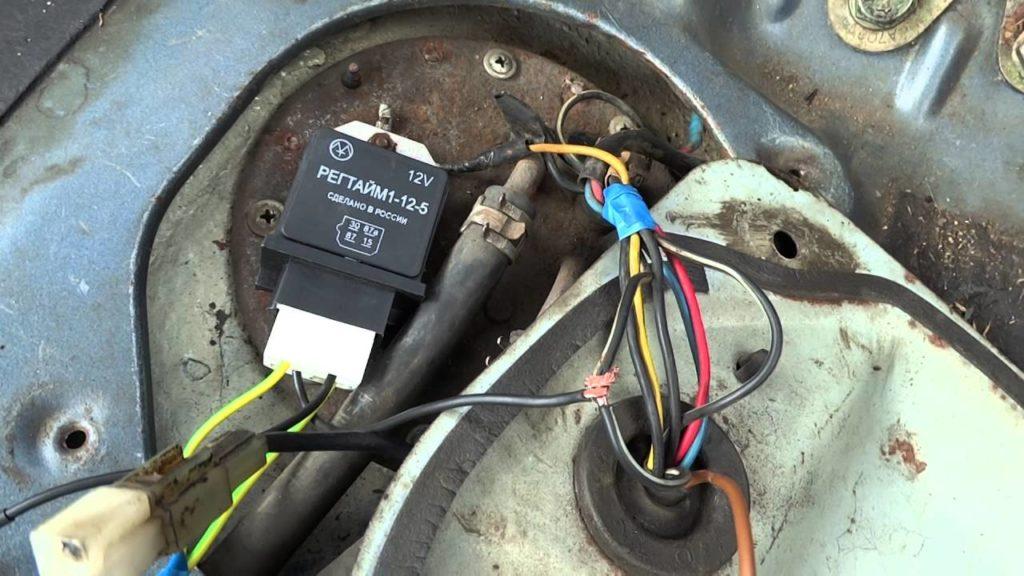Правильное подключение бензонасоса на ВАЗ-2115