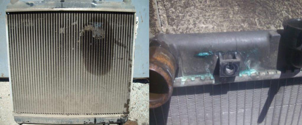 Течь радиатора