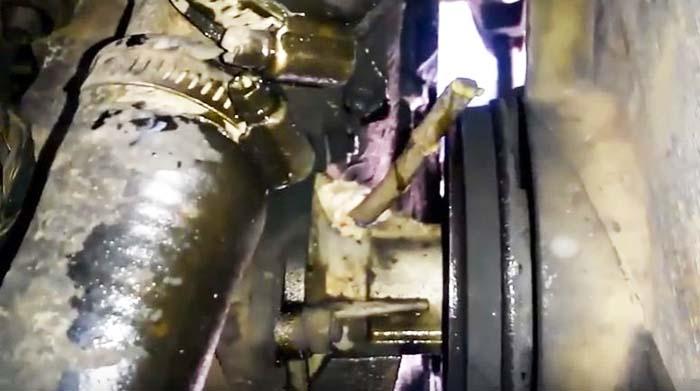 Устранение течи из корпуса помпы ВАЗ 2101–07