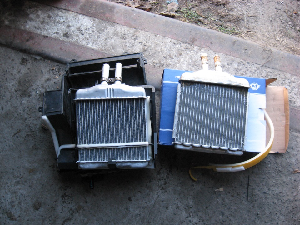 Радиатор печки от «Дэу Ланос»