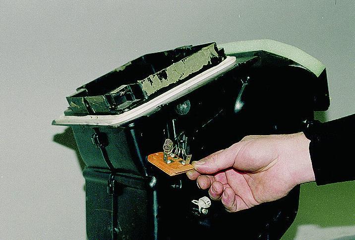 Резистор отопителя ВАЗ 2113–15