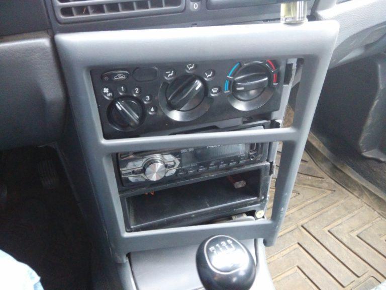 Расположение печки в автомобиле «Дэу Нексия»