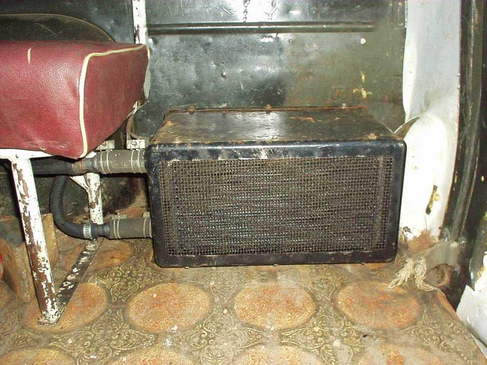 Печка автомобиля КАМАЗ